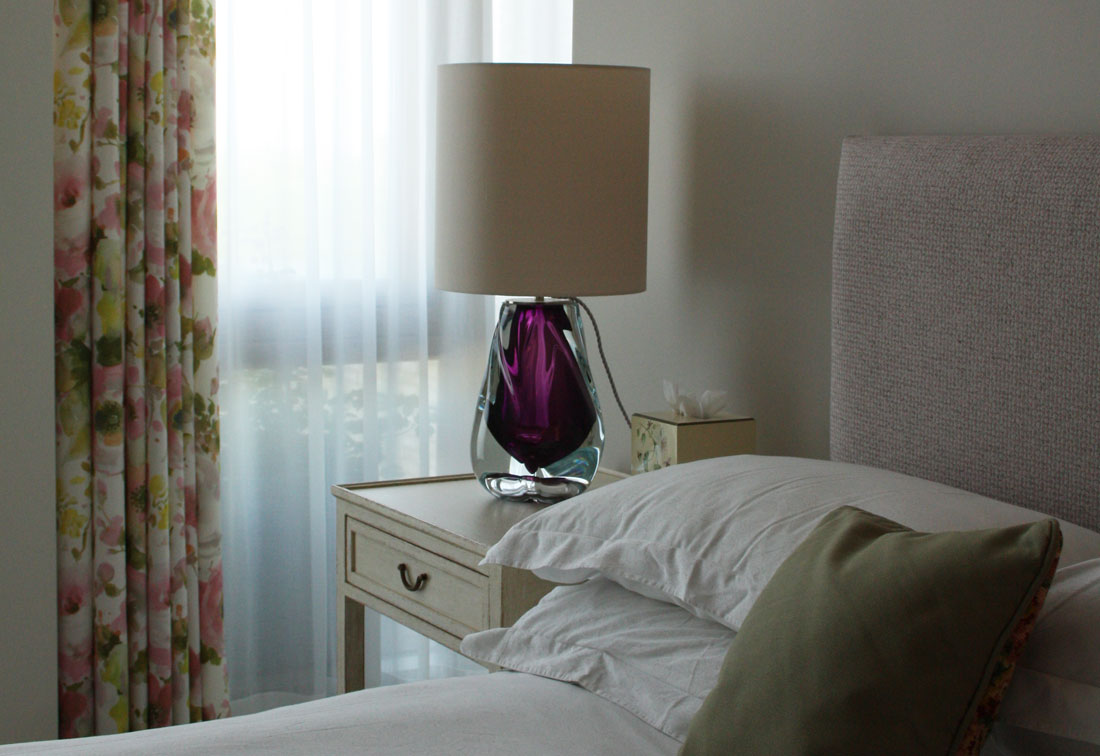 Bespoke interior design London bedroom