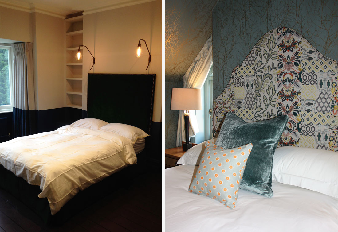 Soft furnishings in West London interior design