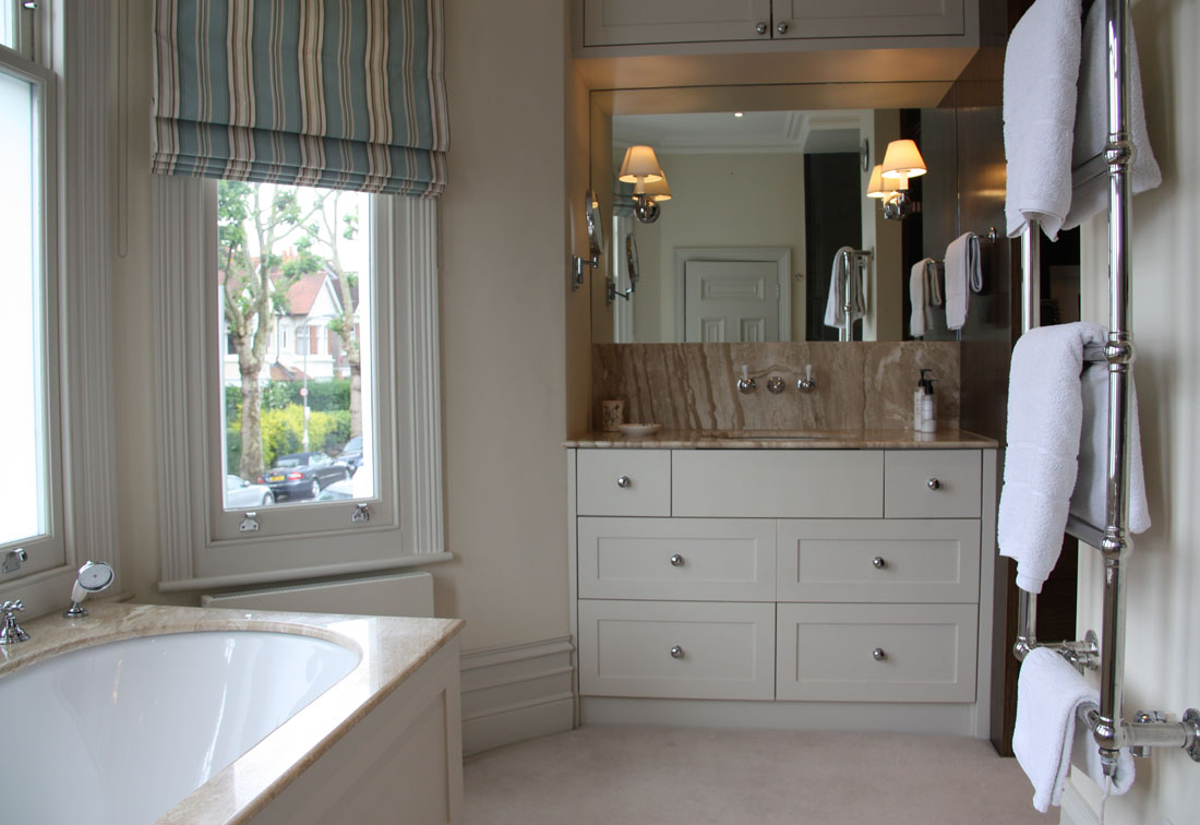 South West London re-decorated bathroom