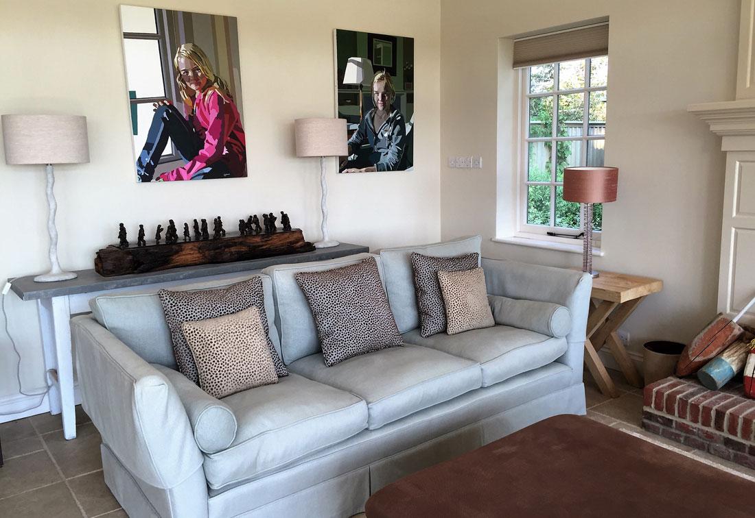 Bosham - family room