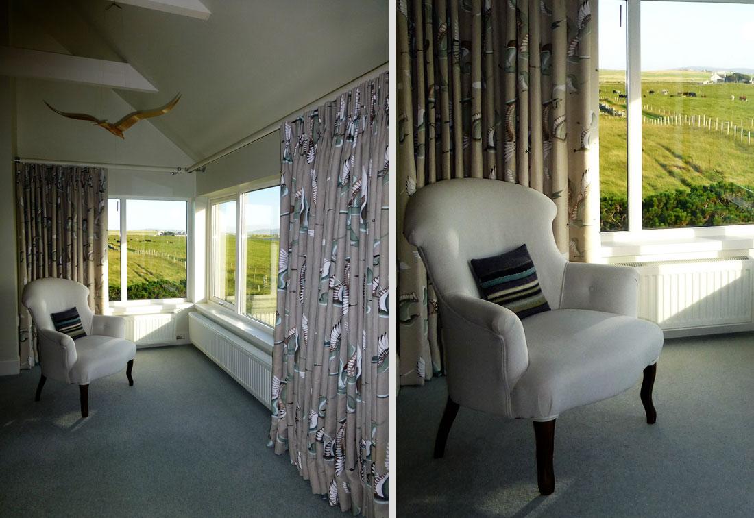 Orkney, Scotland - master bedroom