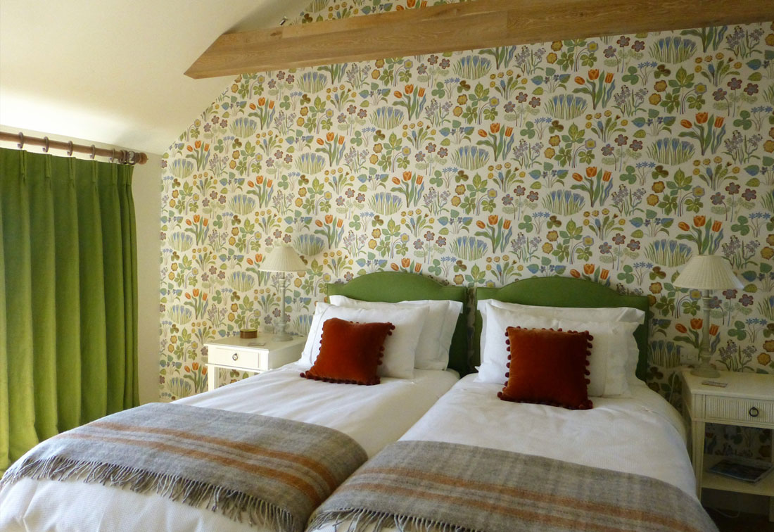Orkney, Scotland - guest bedroom