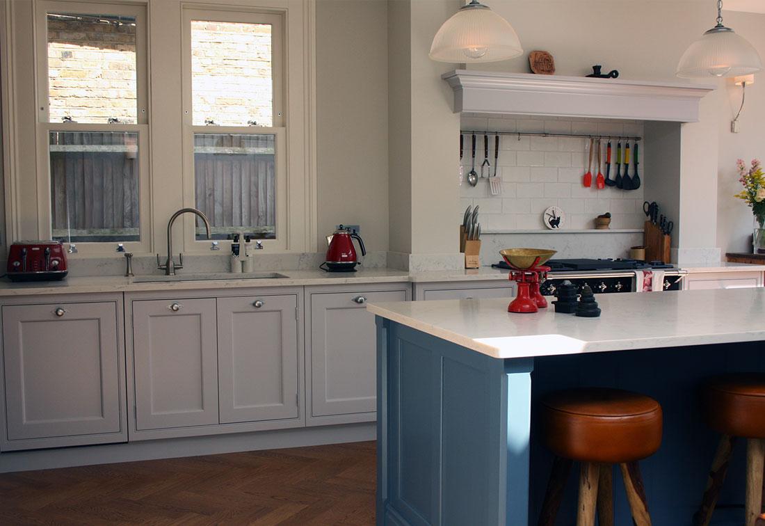 West London kitchen interior design by Suzi Searle